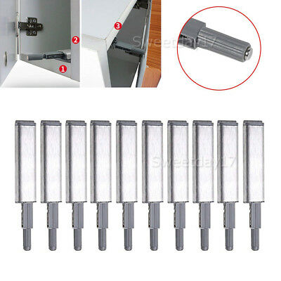 10X Push To Open System Damper Buffer Push Catch Kit Cabinet Latch Door Drawer Y