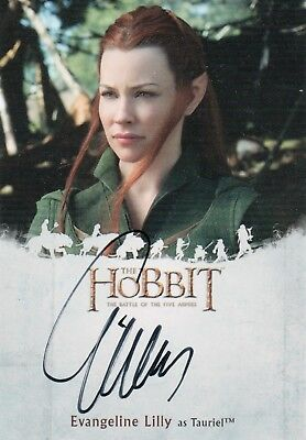 The Hobbit The Battle Of The Five Armies, Evangeline Lilly 'Tauriel' Autograph