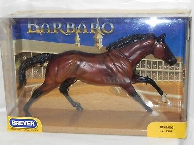 New NIB w/ COA Breyer Horse 1307 Barbaro Traditional Race Stallion Bay 2007 READ