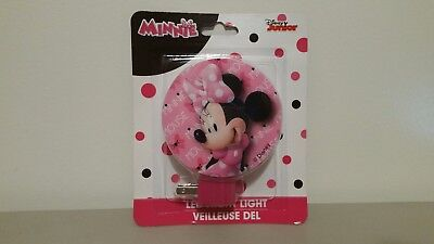 New MINNIE MOUSE LED NIGHT LIGHT WALL LAMP DISNEY JUNIOR KIDS