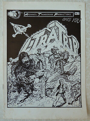 LITRATRIP No 1 1976 - Archangel Thunderbird Production - Comic by Tony Schofield