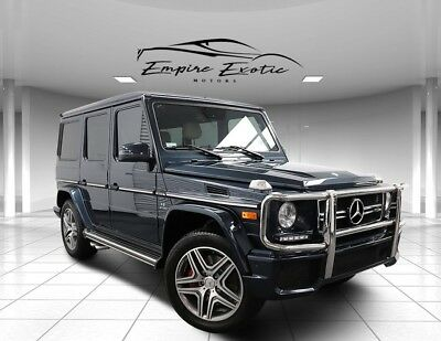 2016 G-Class G 63 AMG 16k with $146k MSRP 2016 Mercedes-Benz G-Class, Black Opal Metallic with 16,262 Miles available now!