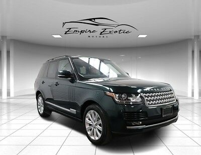 2016 Range Rover Land Rover Range Rover HSE 3.0 V6 Turbodiesel 2016 Land Rover Range Rover, Aintree Green with 25,533 Miles available now!