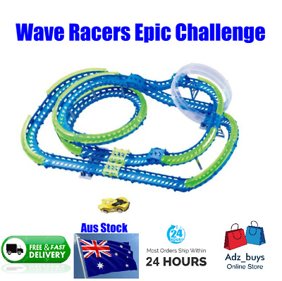 WAVE RACERS Epic Challenge Car Track Motion Controlled BNIB !!