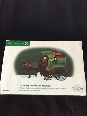 Dept. 56 Dickens Village THE FEZZIWIG DELIVERY WAGON Heritage
