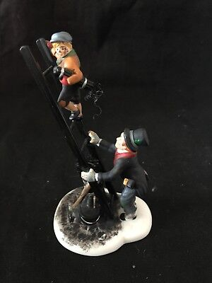 Dept 56 Chimney Sweep & Son Dickens And Heritage Collection