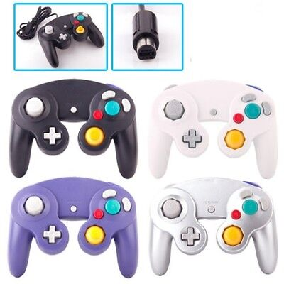 Premium New 2x Dual Shock GameCube Controller For Nintendo Wii GC NGC Gamepad