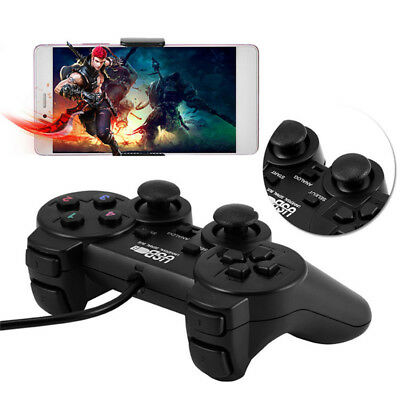 Wired USB Gamepad Game Gaming Controller Joypad Joystick Control for PC Compu BD