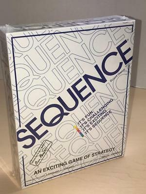 Sequence Board Game New Sealed 8002 English Spanish Instructions