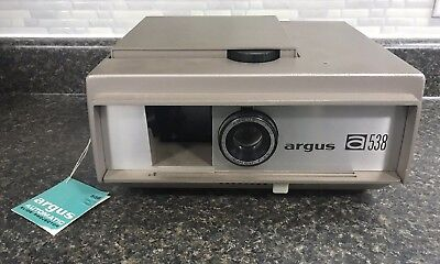 Vintage Argus A-538 Slide Projector 35mm w/ Power Cord - RARE