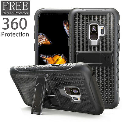 Luxury 360° Shockproof Hybrid Case Cover For Samsung Galaxy S9 S9 Plus Note 9