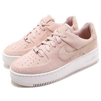 3076c5c4b11b9 Nike Wmns AF1 Sage Low Particle Beige Women Casual Shoes Sneakers AR5339-201