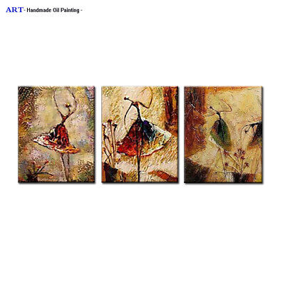 Framed Large Modern Canvas Wall Decor Music Girl Abstract Art Oil Painting H111