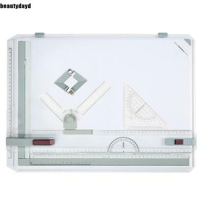 A3 Drawing Board Set Multi-Function W/ Parallel Motion + Set Square 19X14'' top