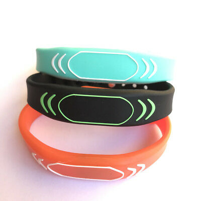 13.56MHZ MIFARE Classic 1K Silicone Wristband Watch Style ISO14443A -100pcs
