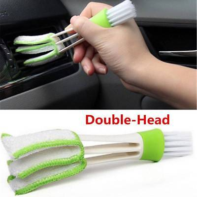 Mini Clean Car Indoor Air-condition Brush Tool Car Care Detailing For all Auto