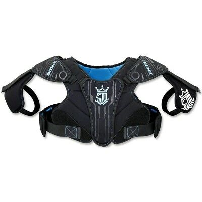 (Small, Black) - Brine Youth Uprising II Lacrosse Shoulder Pad. Free Delivery