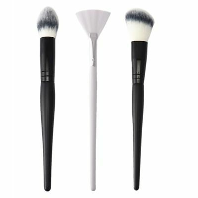 Pro Makeup Brushes Cosmetic Contour Face Blush Powder Foundation Brush Tools