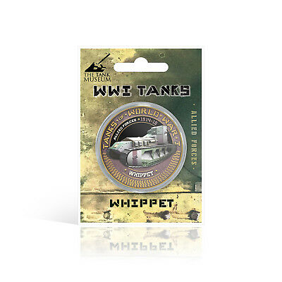 WWI World War One Tanks Collection Gold Coin / Medal - Whippet