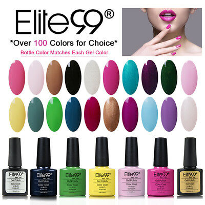 Elite99 Multicolori Smalto Semipermanente Nail Gel Polish UV LED Ricostruzione