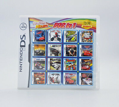 502 in 1 New Multi Game Compliation of Video Games for DS 3DS Play Now