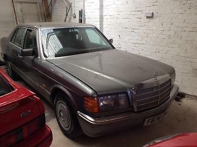 Mercedes-Benz 300 se 1988/F reg  please call for full info 01435 810010