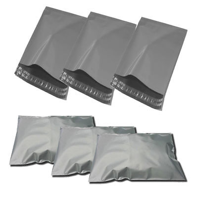 Grey mailing/postal bags/envelopes strong polythene plastic new Fast Dispatch.