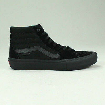 21c0fb2954 VANS SK8 HI Pro Trainers Shoes in Black White in UK Size 4