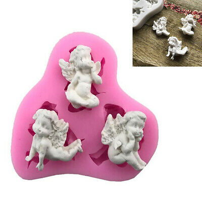 Christmas 3D Cake Mold Silicone Mould Baby Angel Silicone Baking Fondant Mold