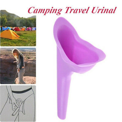 Portable Outdoor Camping Travel Urinal Female Standing Toilet Urine Device  uk