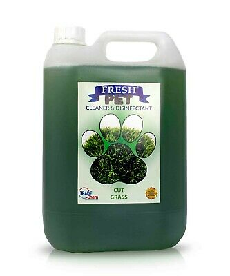 Pet Kennel Dog Disinfectant Fresh Cleaner Animal PREFILL 5L CUT GRASS