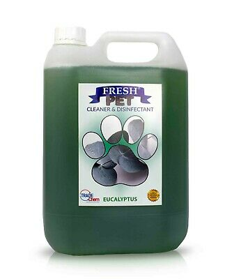 Pet Kennel Dog Disinfectant Fresh Cleaner Animal PREFILL 5L EUCALYPTUS
