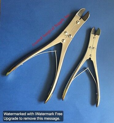 Optimum® 2 Pcs. PIN & WIRE Cutter, T/C Jaws Orthopedic Surgical Pliers