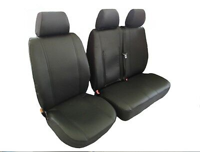 PEUGEOT BOXER,CITROEN JUMPER/RELAY,FIAT2006-2018 RHD ECO LEATHER Seat Covers 2+1
