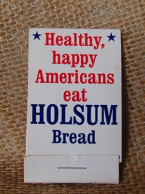 VINTAGE HOLSUM BREAD ADVERTISING SEWING PATCH KIT measuring 2 3/4 x 1 5/8