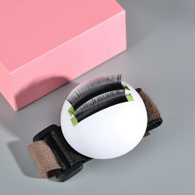 Individual Eye Lash Extension Hand Plate Lash Holder Domed Tray Bubble Wrap Chic