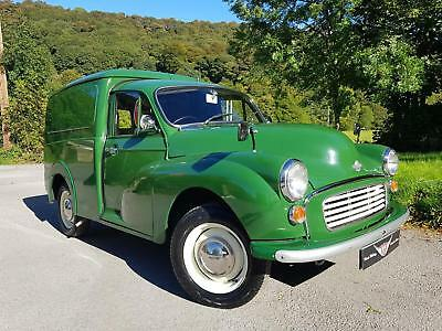 1972 Morris Minor Van, very clean and tidy built on new chassis