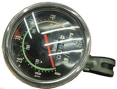 Laxzo Bicycle Bike Classic Round Speedometer Vintage Style Odometer 24-29 Wheels