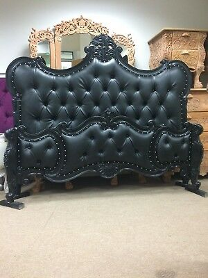 IN STOCK Hand made 'Castello' French Rococo king size bed- All colours available