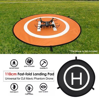 110cm Waterproof Fast-fold Landing Pad Parking Apron For Phantom Mavic Drone YL