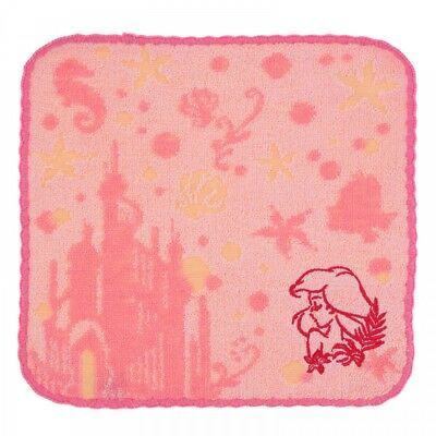 Disney Store Japan Mini Towel Ariel Eyelid time ​​From Japan F / S