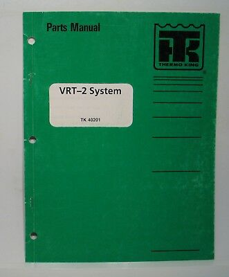 THERMO KING PARTS Manual / XDS SR Reefer w/3.95 Engine - $8.99 ... on