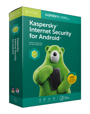 Kaspersky Internet Security for Android Latest Version | 1 Device | 1 Year