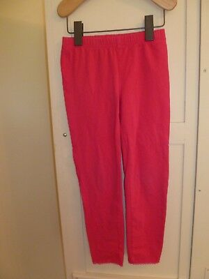 GAP Kids Girls M 8 Bright PINK Stretch LEGGINGS Pants Easy-to-Match and Fun!