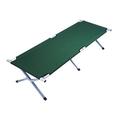 Folding Camping Bed Stretcher Light Weight Camp Portable w/ Carry Bag