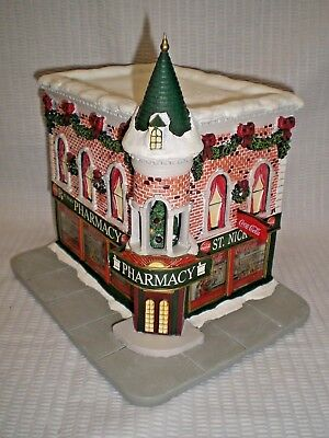 Coca Cola St. Nick's Pharmacy Holiday Village Collection; COA #A05360 ; No Box