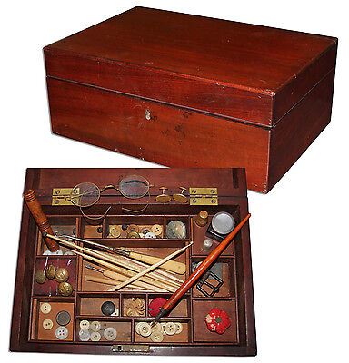 Civil War Era Nurses Sewing Box Likely Used in the War