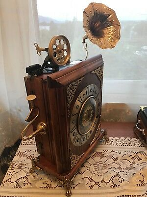 Steampunk Mantel Clock , French Mechanical Movement (Handmade By Ovdiem)