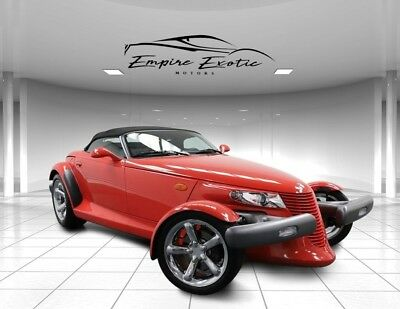 1999 Prowler 2dr Roadster 7k Survivor! 1999 Plymouth Prowler, Prowler Red Clear Coat with 7,400 Miles available now!