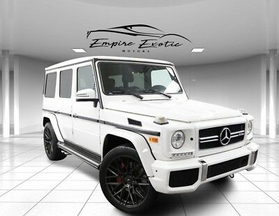 2015 G-Class G 63 AMG® 2015 Mercedes-Benz G-Class, Polar White with 40,505 Miles available now!